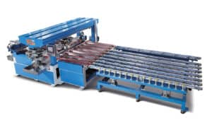 4-edge horizontal glass grinder from HHH Equipment Resources
