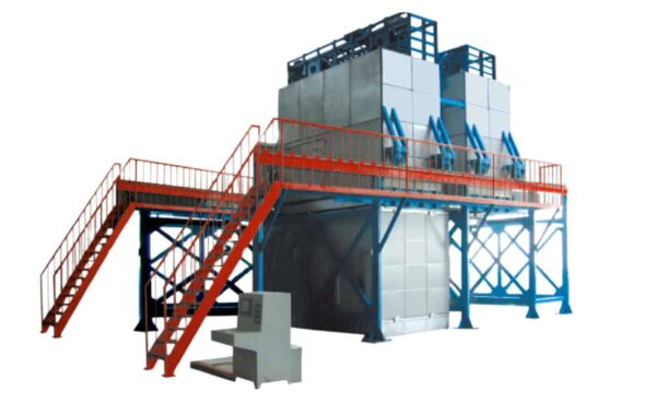 Chemical Tempering Glass Furnace side view